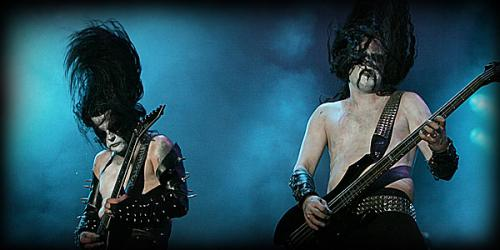 Black Metal - Immortal gig in 2007 - Wacken