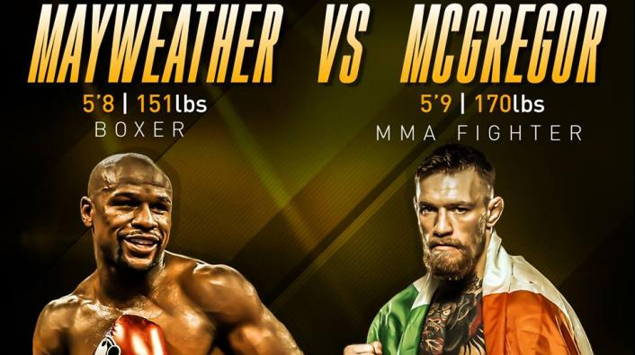 Conor McGregor VS Floyd Maywheather tickets discount coupon code