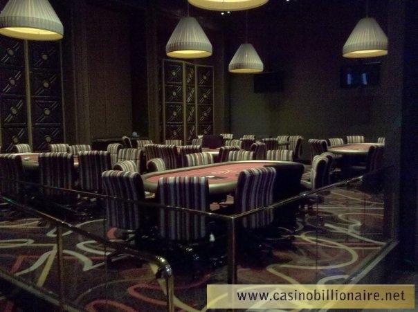 Sala de poker do Aria no City Center