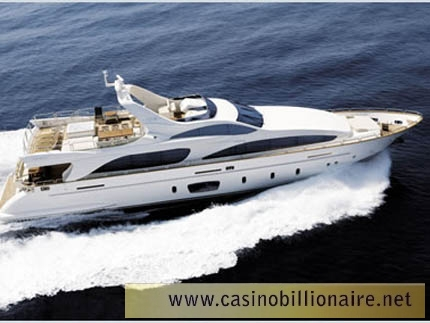 As lanchas mais luxuosas do mundo - AZIMUT 105