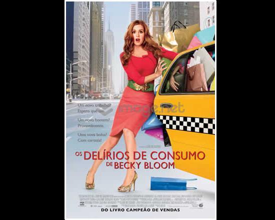 Os delírios de consumo de Becky Bloom chegam ao cinema