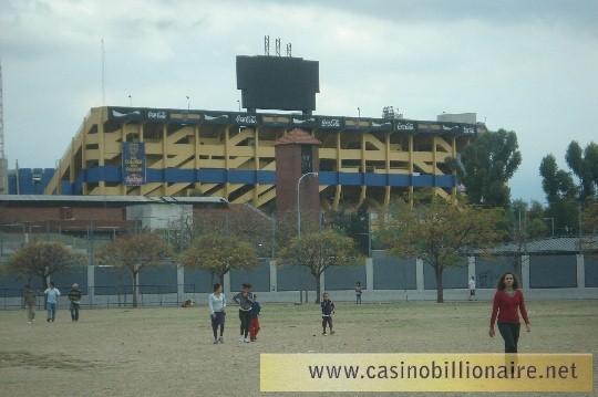 Buenos Aires - bairro Boca - estadio do Boca Juniors