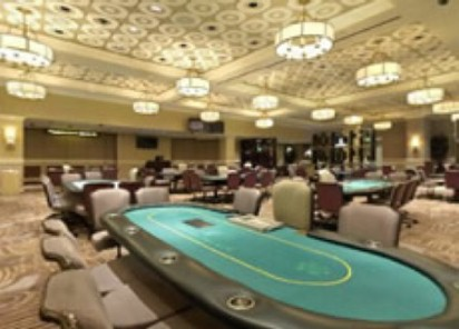 Sala de poker do Caesars Palace Las Vegas