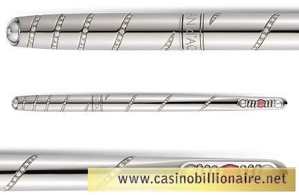 Caran d´ache cria caneta com jóias e diamantes