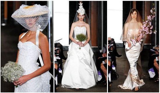 Desfile de noivas de Carolina Herrera encanta