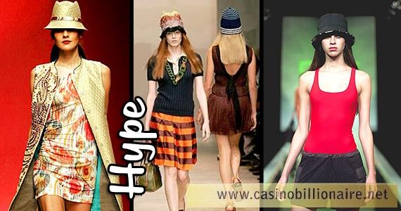 De cabeça na moda