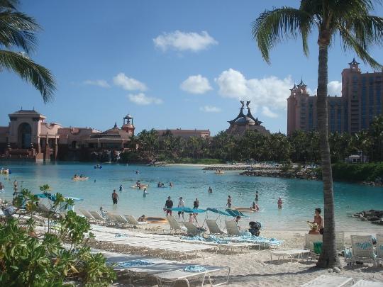 Atlantis Paradise Island - Bahamas - piscinas e atrações de água