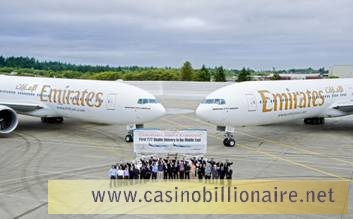 Emirates Airlines recebe dois Boeing 777