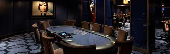 Conheça a sala de poker do Hard Rock