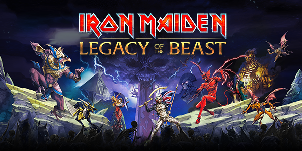 Legacy of the Beast - Iron Maiden game