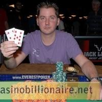 Jogador do Texas, Jordan Smith, vence o evento 36 de Texas Holdem