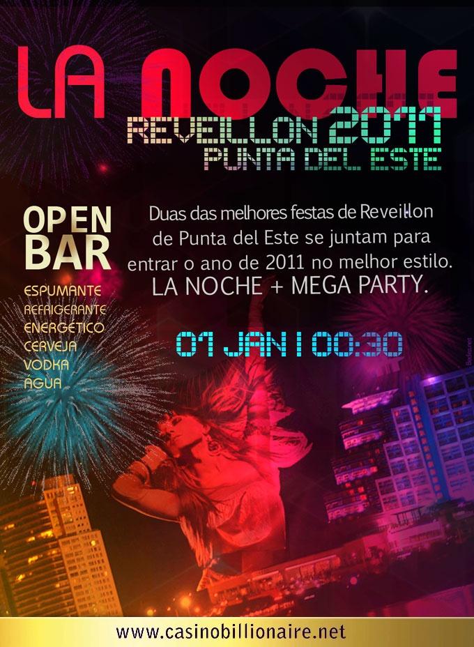 Festa de Reveillon em Punta del Este - La Noche 2011