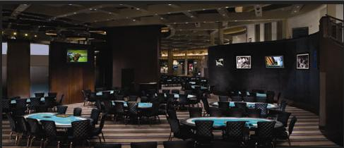 Sala de poker do casino MGM Grand Las Vegas