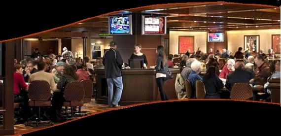A classe da sala de poker do Mirage