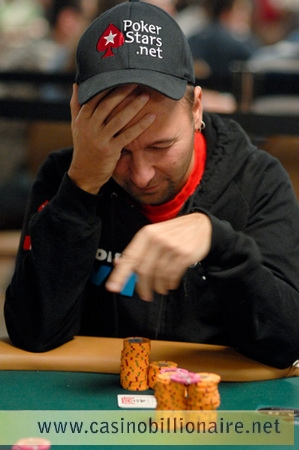 WSOP 2009: Daniel Negreanu duas vezes na trave