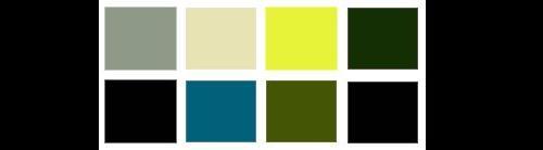 Os temas das cores do inverno 2009