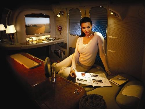 Primeira classe da Emirates