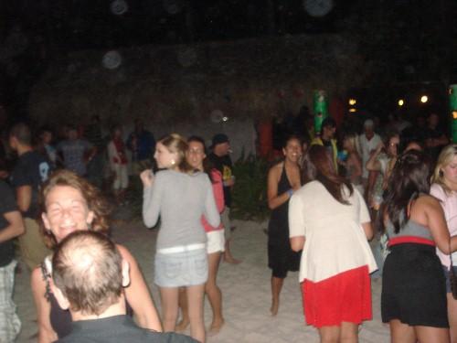 Punta Cana - festa na praia