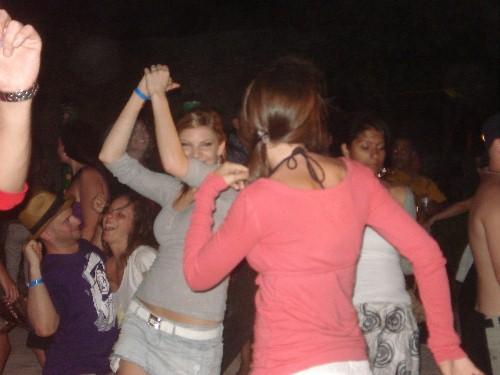 festas na praia do Barceló Dominican Beach