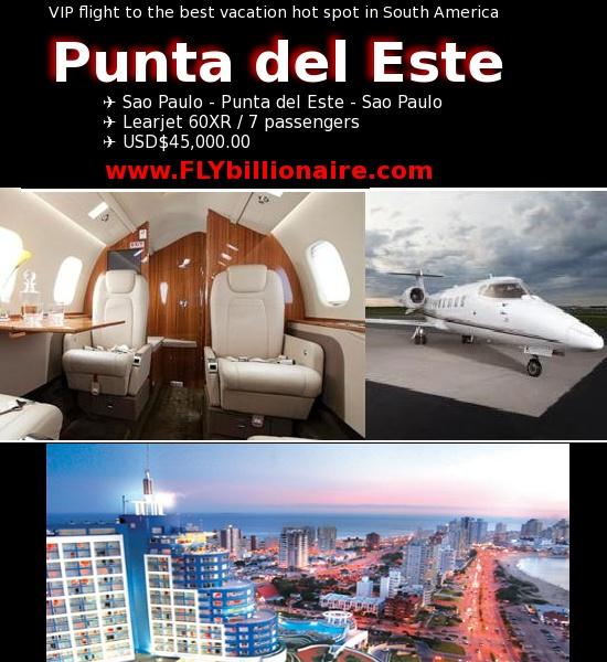 Vôo para Punta del Este