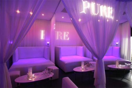 festa no Pure Nightclub esta dentro do Caesars Palace Las Vegas