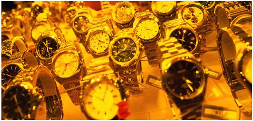 O requinte do mundo dos relógios