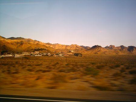 A famosa Route 66 - de Las Vegas para Grand Canyon