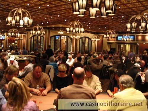 Sala de poker do Bellagio Las Vegas