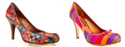 Sapatos coloridos: As cores ao seu favor