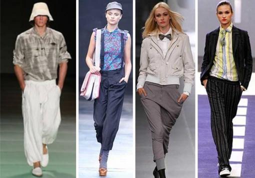 Calça saruel: Essa moda pega?