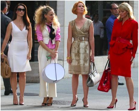 A moda invade as séries de TV