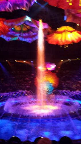 Fotos dos shows em Las Vegas - O e Le Rève