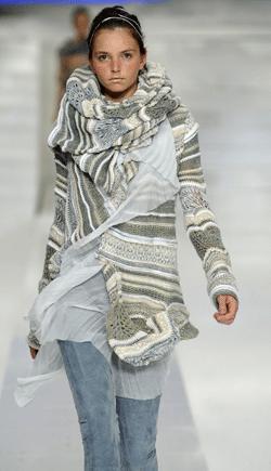O tricô esquenta o inverno 2009
