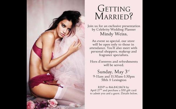 Victoria s Secret faz evento para noivas